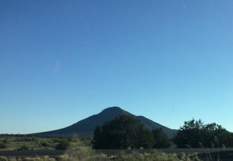 On I-40 near Ash Fork, AZ