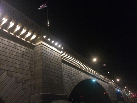 London Bridge; not falling down!